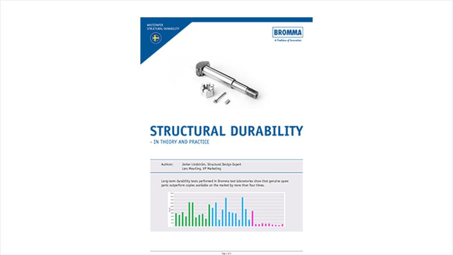 Nuevo documento técnico: Durabilidad estructural