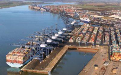 El Puerto de Felixstowe mejora con Bromma