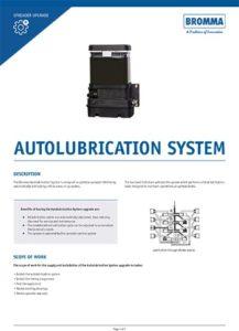 Upgrade Autolubrication Syste