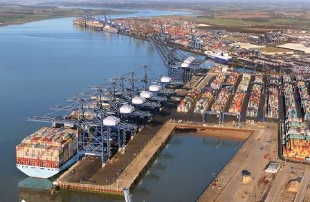 Port Of Felixstowe Upgrades With Bromma