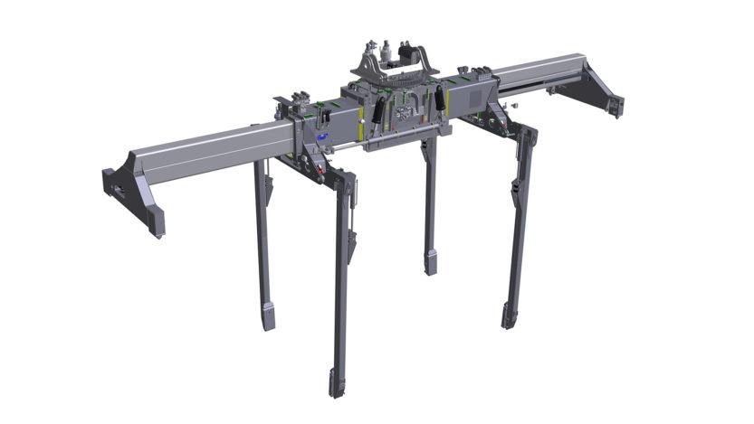 RSX40C reach stacker spreader