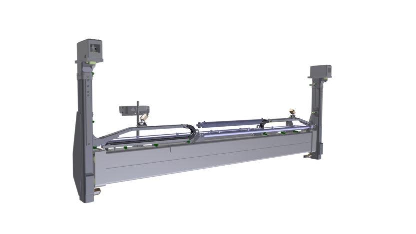 SLV40 side lift spreader