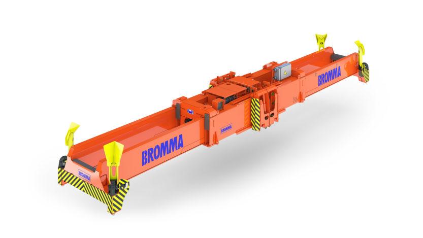 Bromma STS45 hydraulic spreader