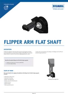 Upgrade Flipper Arm Flat Shaft (PDF)