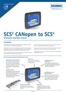 Upgrade SCS² CANopen to SCS⁴