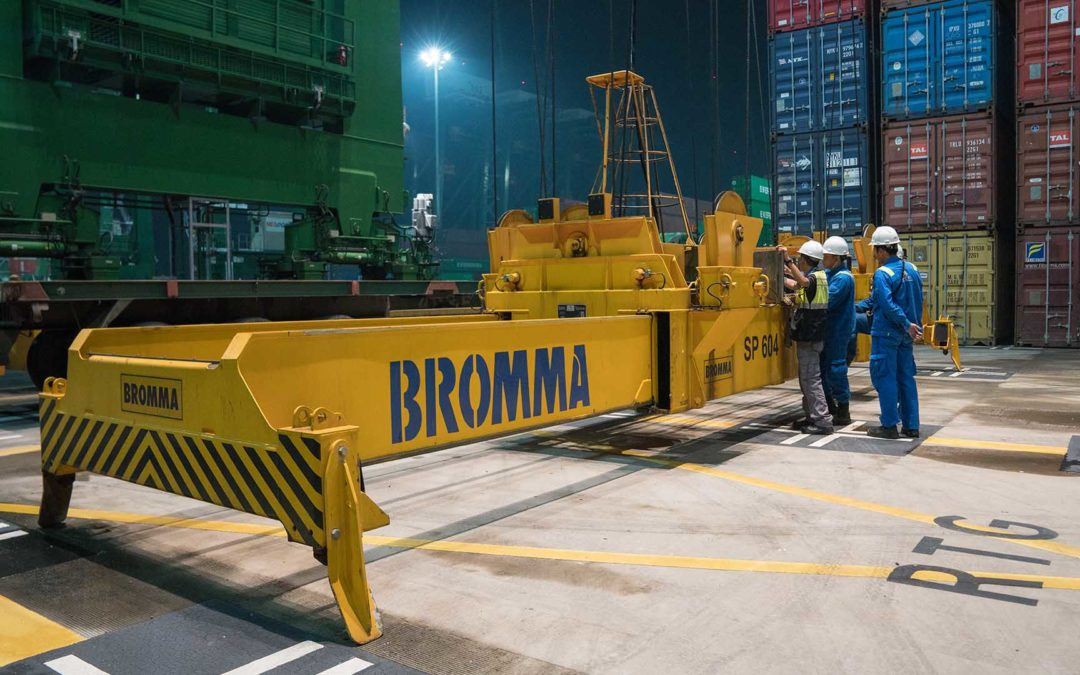 Ease-of-access and higher serviceability with Bromma spreaders