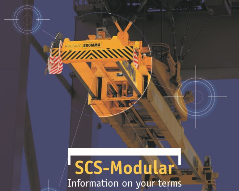 Bromma introduces SCS-Modular spreader control system