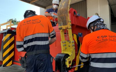 CSP Iberian Valencia Terminal improves spreaders productivity with Bromma SMS